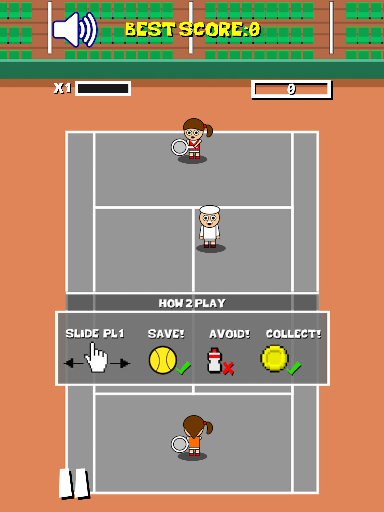 Kristine Plays Tennis- screenshot
