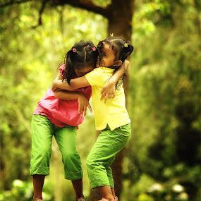 the hug of love by Arief Siswandhono - Babies & Children Children Candids
