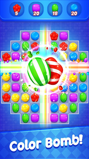 Candy Witch - Match 3 Puzzle Free Games 11.0.3935 screenshots 1