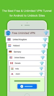 Cloud VPN Unlimited VPN Free unblock proxy - náhled
