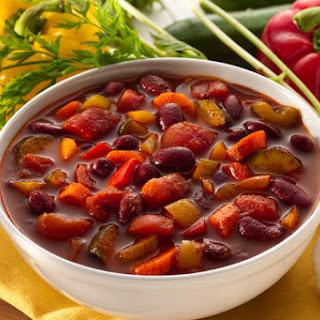 Vegetable Chili.
