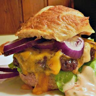 Da Bomb Oven Roasted Hamburgers Recipe