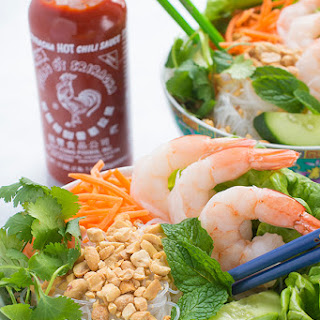 Vermicelli Noodle Bowls with Shrimp