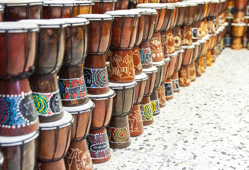 Cuba-Bongos_01.jpg - Music is in the air in Cuba, and you can bring bongos back from your Fathom cruise.