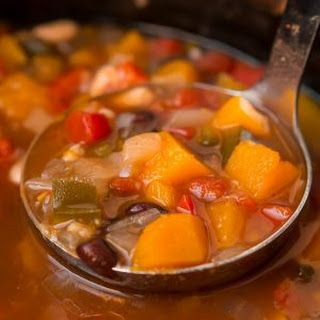 Slow Cooker Butternut Squash Chili.