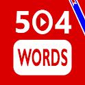 504 Words + Videos   آموزش بصری لغات ضروری انگلیسی icon