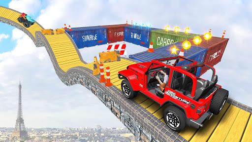 Offroad Jeep Driving Stunt 3D : Real Jeep Games  screenshots 11