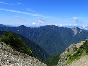 奥茶臼山が近くに