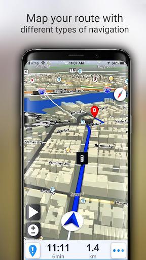 GPS Offline Maps, Directions screenshot 7