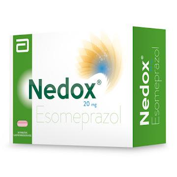 Nedox 20Mg Abbott   Esomeprazol caja x 28 Tabletas