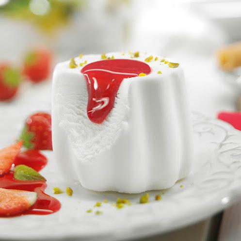 Abbildung Panna Cotta Dessert