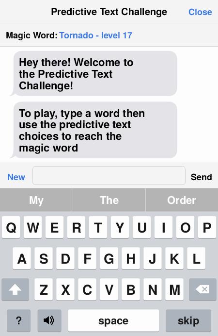 Word play/choices????????