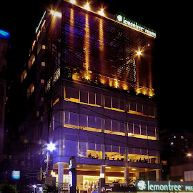 by Kumar Munna - Buildings & Architecture Other Exteriors ( hotel, lighting, building, street photography, night photography )