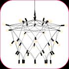 枝形吊灯设计 icon