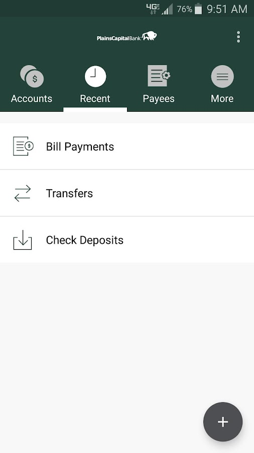 PlainsCapital Business Mobile- screenshot