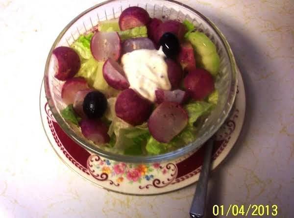 Butter Steamed Radish- Salad