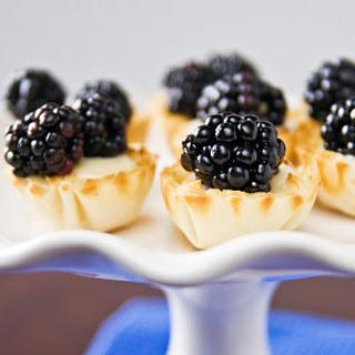 Blackberry-Lime Tartlets.