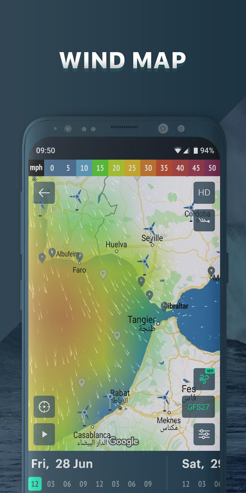 Windy.app: wind forecast & marine weather Screenshot 0