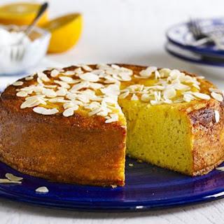 Moroccan Orange & Cardamom Cake.