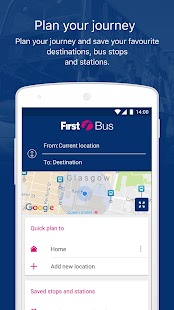 First Bus - Bus travel & times- screenshot thumbnail
