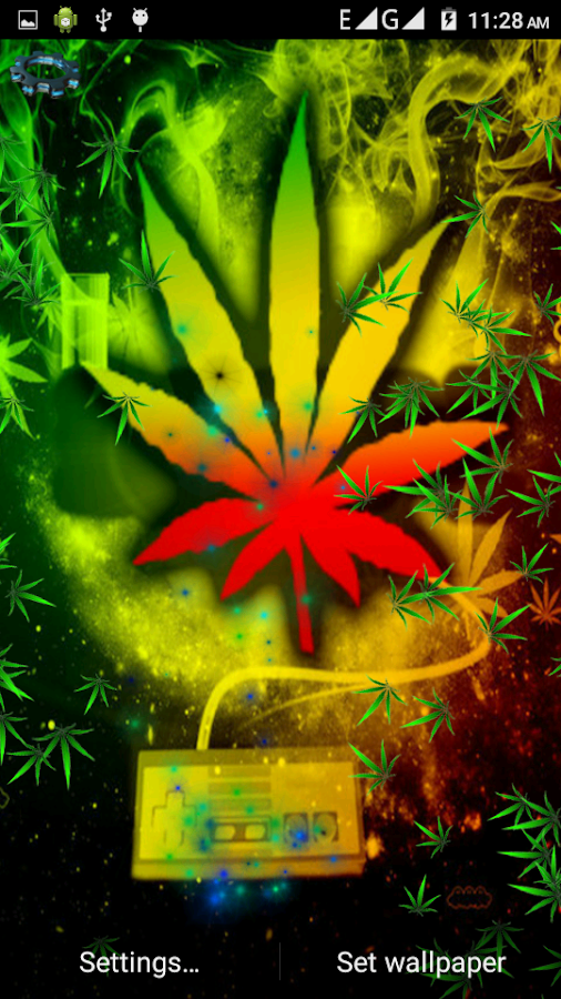 Rasta Weed Live Wallpaper  screenshot. Rasta Weed Live Wallpaper   Android Apps on Google Play