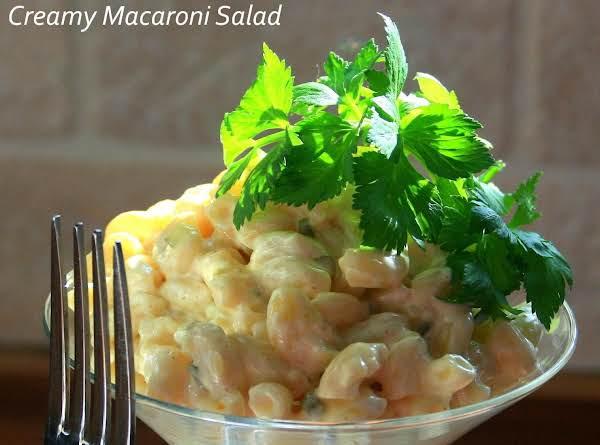 Super Creamy Macaroni Salad_image