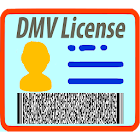 Driver License: Scanner, reader, scan, read info icon