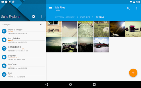 Solid Explorer File Manager- screenshot thumbnail