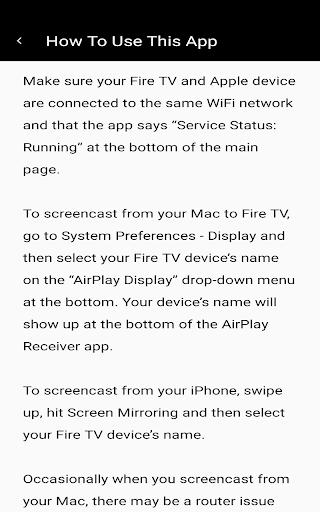 AirPlay Receiver Pro screenshot 1