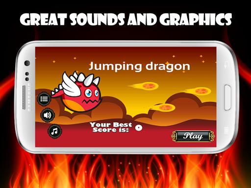 Jumping dragon