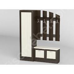Прихожая-26 мебель разработана и произведена Фабрикой Тиса мебель