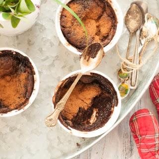 Healthy Chocolate Self Saucing Pudding.