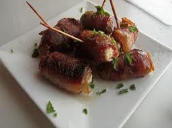 Yummy Bacon Wrapped Feta Stuffed Dates Recipe