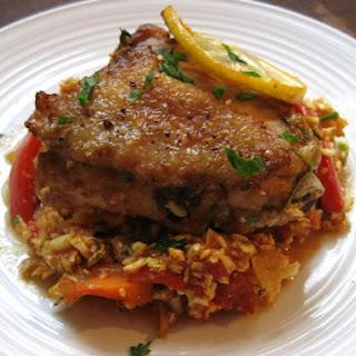 Moroccan Chicken Casserole.