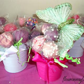 Garden Fairy Cake Pops.
