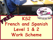 French KS2 and Spanish Ks2
