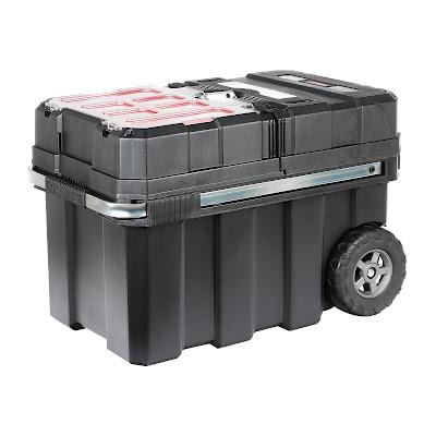 Ящик для инструментов на колесах Curver masterloader 61,6х37,8х41,5 см
