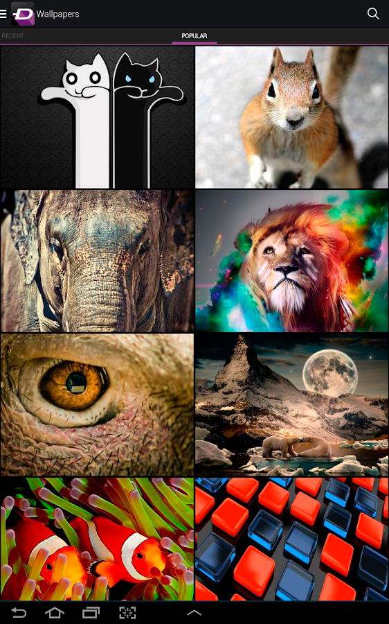 ZEDGE™ Tonos y Fondos - screenshot