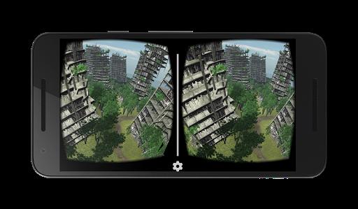 VR abandoned city 360  screenshots 6