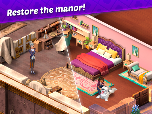 Ava's Manor - A Solitaire Story modavailable screenshots 14