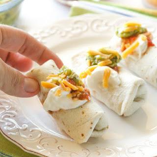 Mini Burritos.