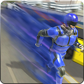 Download Super Light Speed Robot Superhero Free
