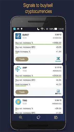 CoiNsider - Gane dinero con las tasas de Bitcoin screenshot 2