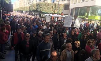 La histórica manifestación agrícola del 19N, en imágenes