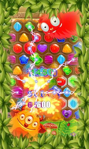 Jewels Candy Frenzy Hexagon