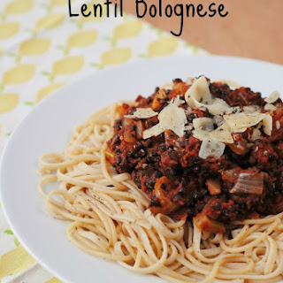 Lentil Bolognese Recipes