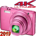 HD 4K Ultra Zoom Camera icon