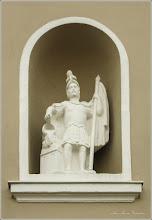 Photo: Turda - Statuia Sfantului Florian - Str. Mihai Eminescu, Nr.3  - 2019.01.28
