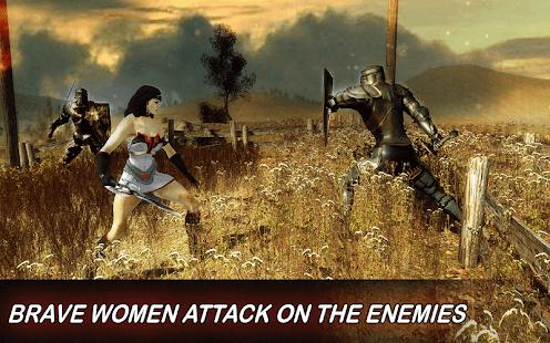 Real Wonder Warrior Woman Fighter - Superhero Game - náhled