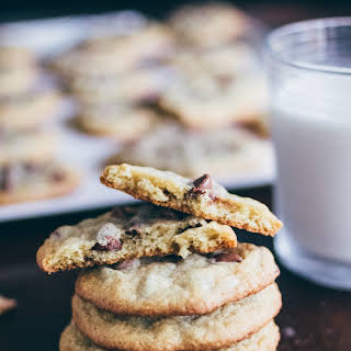 Chewy And Soft Chocolate Chip Cookies.